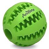 AniForte Naturkautschuk Zahnpflegeball für mittel & große Hunde Ø 7cm – Snackball gegen Zahnstein & Zahnbeläge, reinigt Zähne & Zwischenräume, Intelligentes Hundespielzeug, Hundeball Premium Qualität