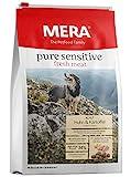 MERA Pure Sensitive Fresh Meat Adult Huhn und Kartoffel Hundefutter – Trockenfutter für Hunde mit Einer Rezeptur ohne Getreide und 40% Frischfleisch