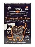 Qchefs Hunde Zahnputzflocken   Zahnpflege- Snack  Zahnpulver  Hundeleckerlie  Zahnsteinentferner   gegen Mundgeruch & Zahnfleischentzündung   Hüttenkäse- natürlich antibakteriell- jodfrei - alle