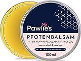 Pawlie's Pfotenbalsam Hund mit Bienenwachs & Bio Jojobaöl | Pfotenschutz Hund, Pfotenpflege Hund, Pfotencreme, Pfotensalbe für Hunde, Paw Balm, Wrinkle Balm | Perfekter Schutz für Hunde & Katzen