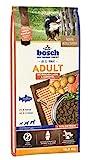 bosch HPC Adult mit frischem Lachs & Kartoffel   Hundetrockenfutter für ausgewachsene Hunde aller Rassen, 1 x 15 kg