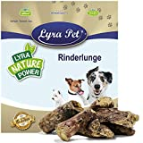 Lyra Pet® 5 kg Rinderlunge 5000 g getrocknet fettarm Hundefutter Kausnack Leckerli Lunge