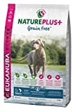 Eukanuba NaturePlus+ getreidefreies Welpenfutter mit Lachs – Trockenfutter ohne Getreide für Junior Hunde aller Rassen, 2,3 kg