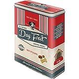 Nostalgic-Art Retro Vorratsdose XL PfotenSchild Food – Geschenk-Idee für Hunde-Besitzer, Aufbewahrungsbox für Trockenfutter, Dog Bisquits, 4 l