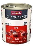animonda Gran Carno adult Hundefutter, Nassfutter für erwachsene Hunde, Rind pur, 6 x 800 g