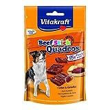 Vitakraft Beef Stick Quadros Plus Leber & Kartoffel - 7 x 70g