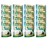 Dehner Best Nature Katzenfutter Adult, Wild und Ente mit Nudeln, im Beutel, 16 x 85 g (1.36 kg)